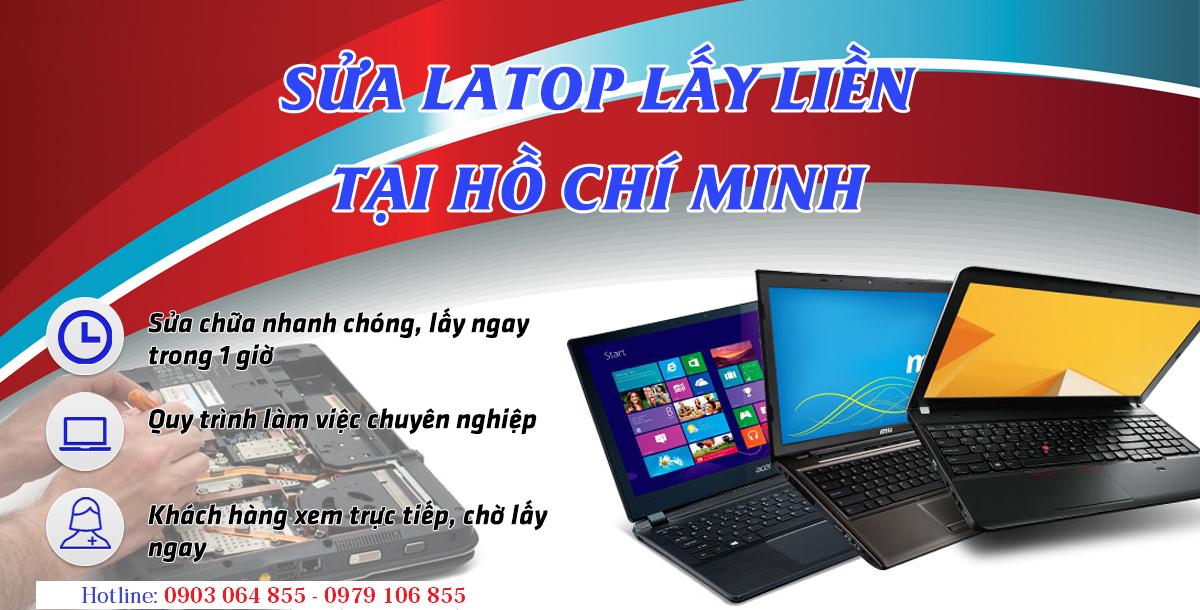 Dịch vụ sửa laptop Bình Tân giúp cư dân nơi đây xử lý dứt điểm những sự cố laptop