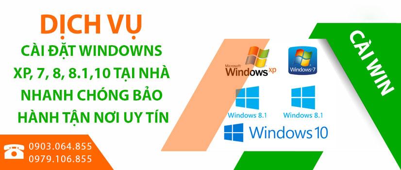 Dịch vụ cài win quận Bình Tân tại nhà – Cài đặt đầy đủ Font chữ