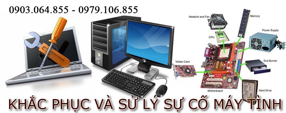 Dịch vụ sửa máy tính tại nhà HCM uy tín - Laptop/PC chuyên nghiệp