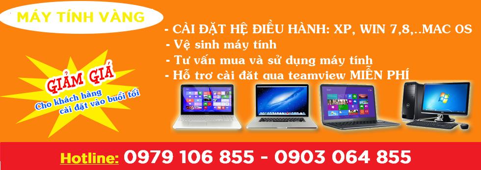 Khám chữa dứt điểm mọi vấn đề của laptop để khách hàng có thể tiếp tục sử dụng