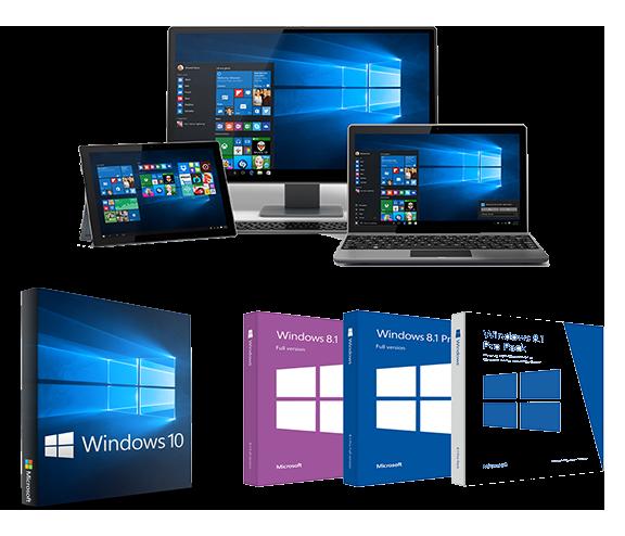Khi các bạn sử dụng dịch vụ của chúng tôi sẽ luôn được cài những phần mềm mới nhất, tốt nhất