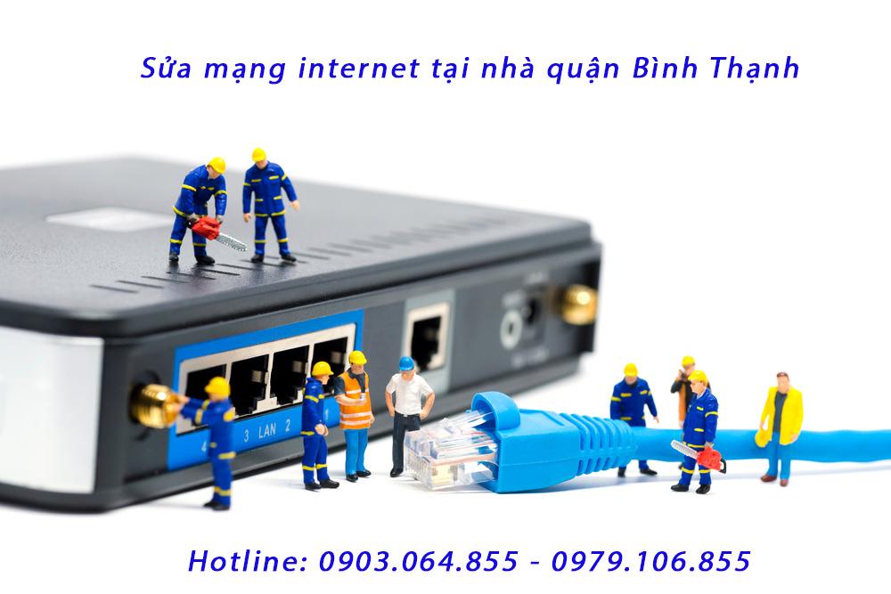 Sửa mạng internet tại nhà quận bình thạnh - Mất kết nối mạng Lan VP